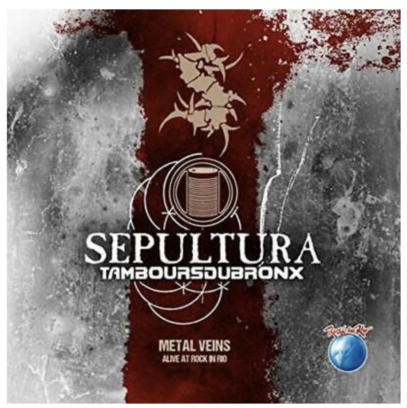 2 Vinilo SEPULTURA-METAL VEINS-ALIVE AT ROCK IN RIO (LIMITE (Importación USA)