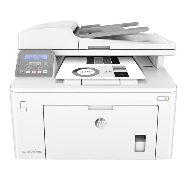 Impresora Multifunción Láser HP LáserJet Pro M148dw, Wi-Fi, Ethernet - Cyber Monday La Tienda en Casa