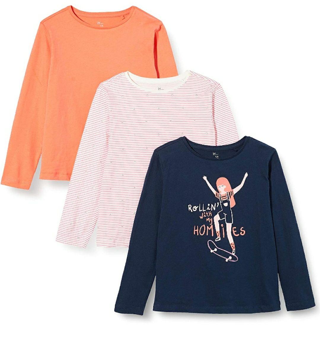 ZIPPY Pack de 3 Camisetas para Niñas