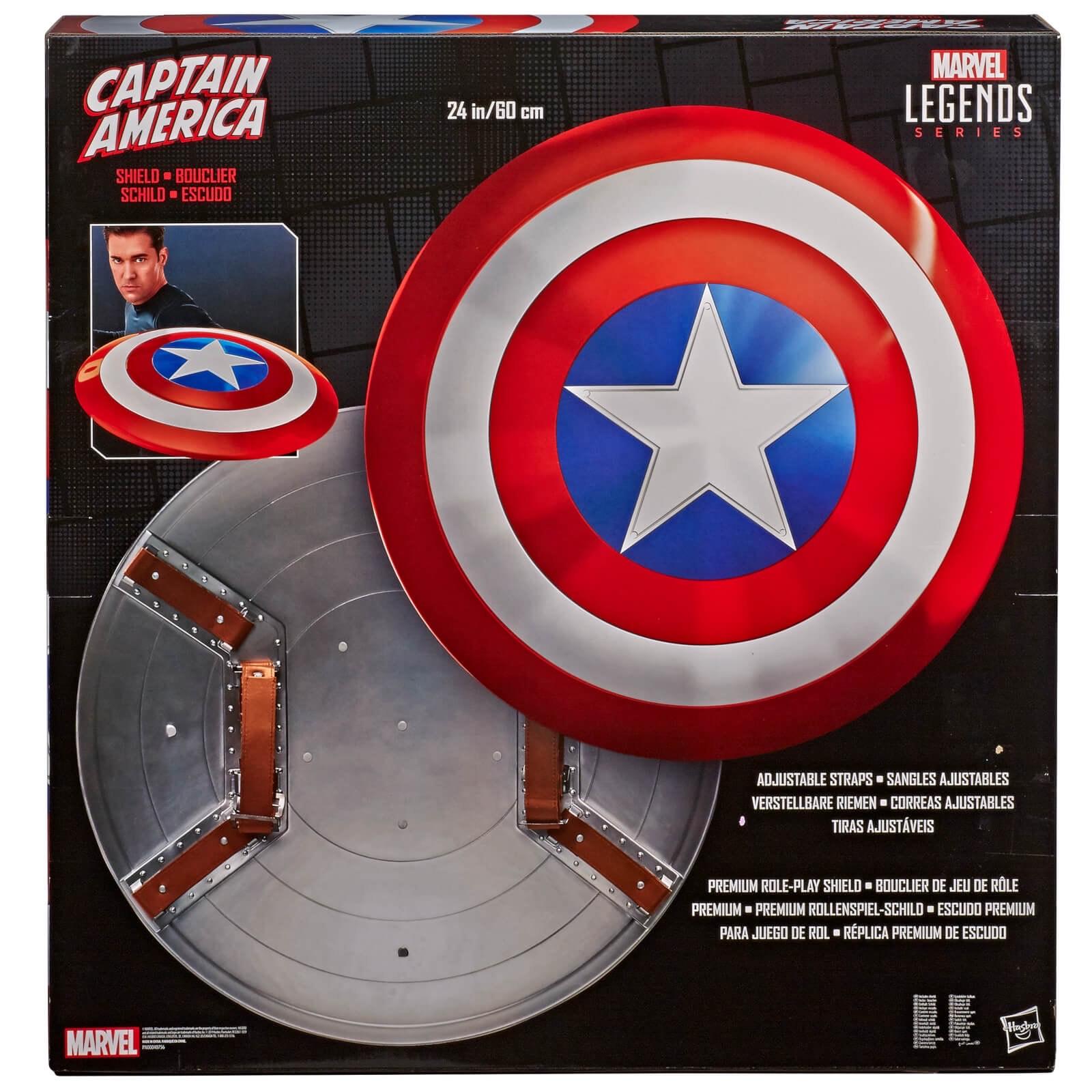 Marvel Legend - 1:1 Escudo Capitán América 80.º Aniversario 1:1 - Hasbro