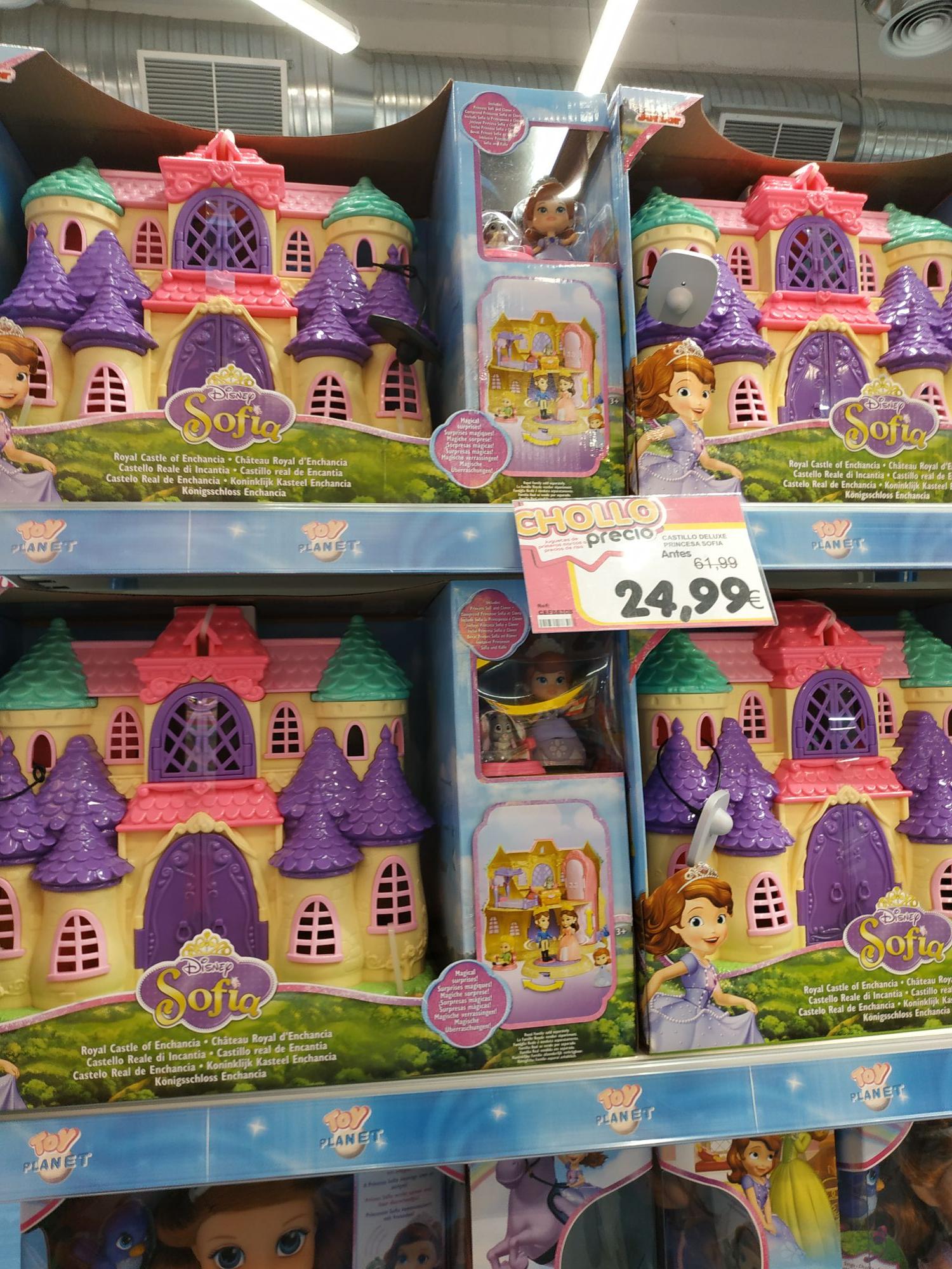 Castillo Deluxe princesa Sofía en Toyplanet Sambil outlet