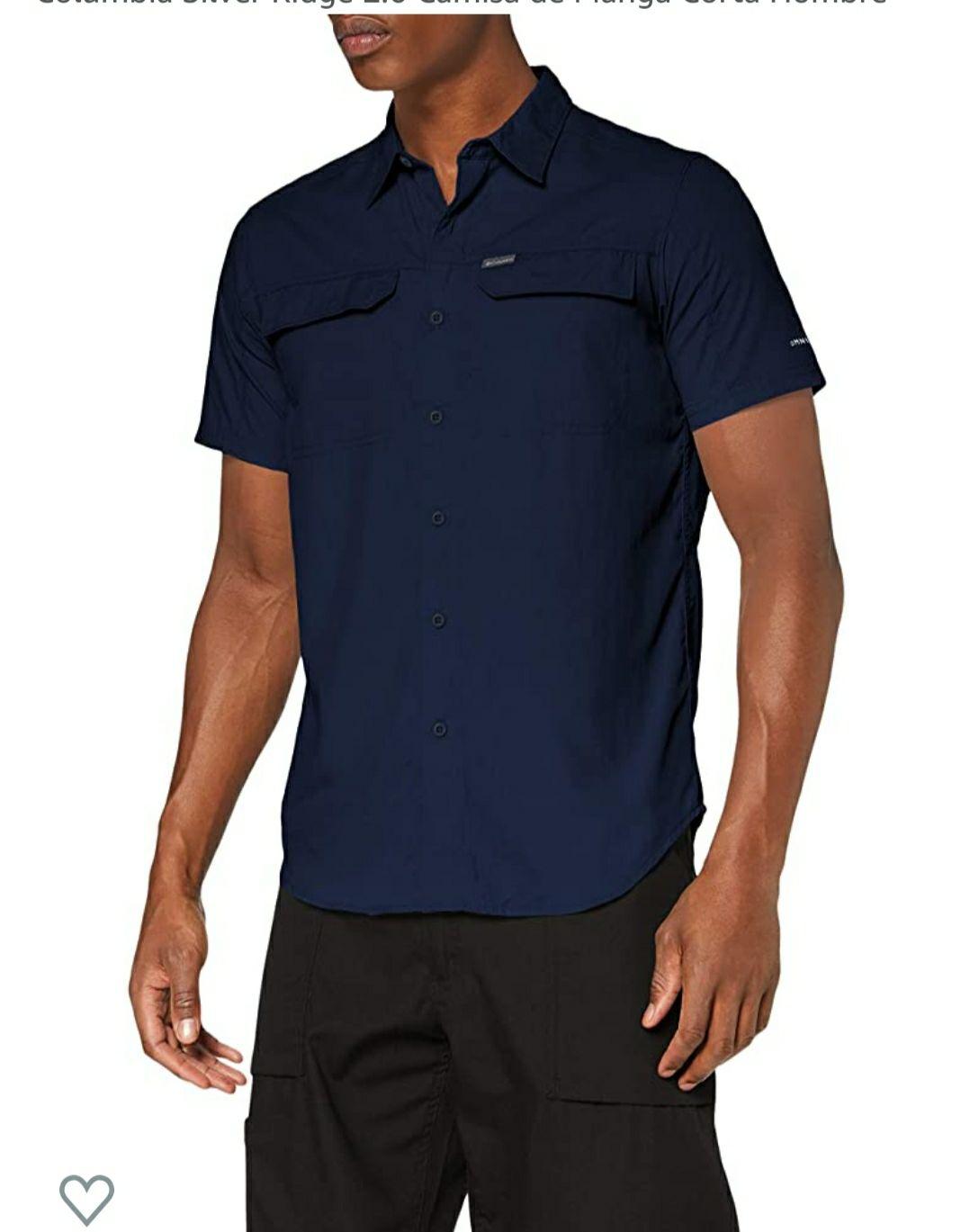 Camiseta de manga corta Columbia Silver Ridge 2.0 para hombre