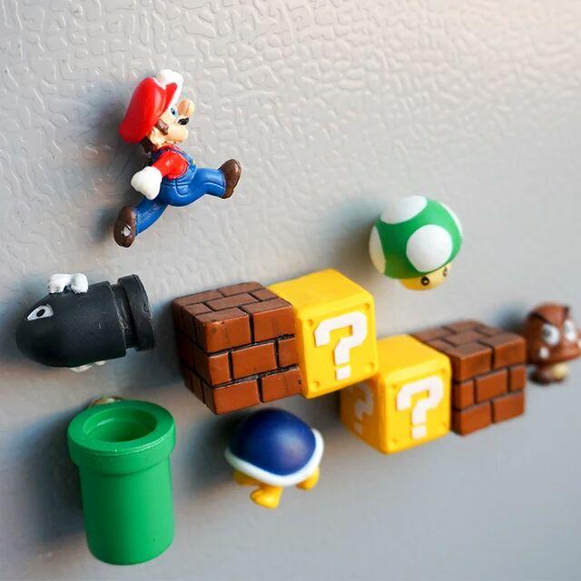 Pack imanes Mario bros
