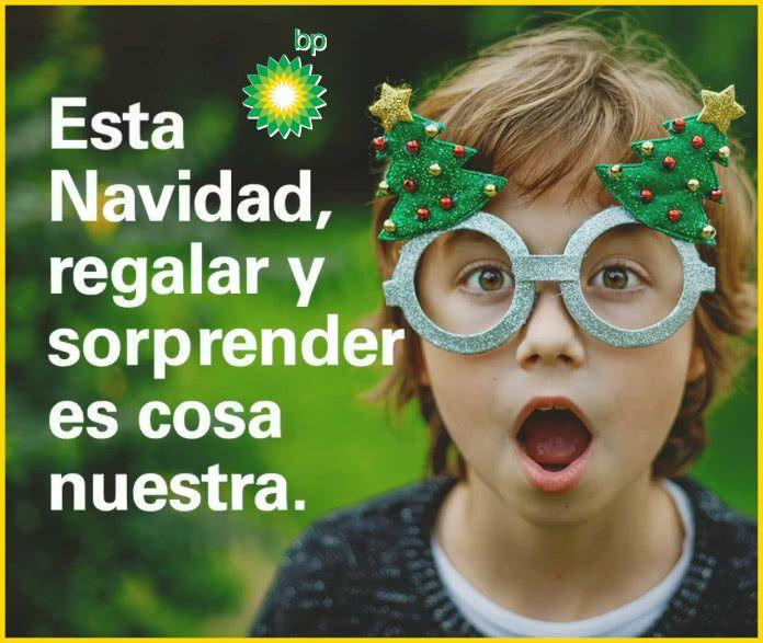 BP ES TU AMIGO VISIBLE ESTA NAVIDAD