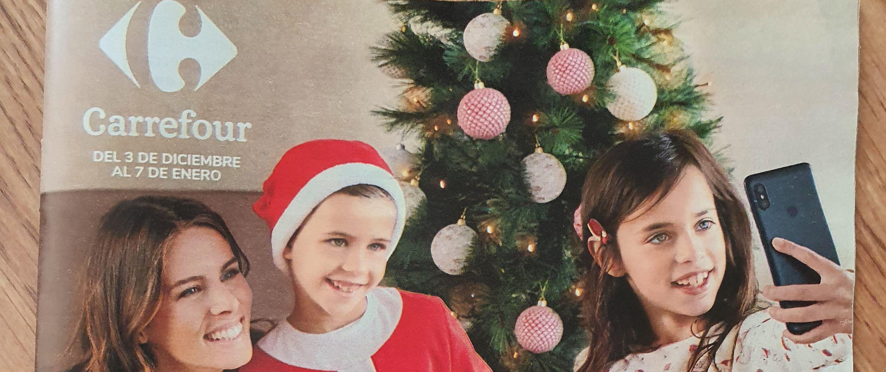 Folleto Navidad de Carrefour