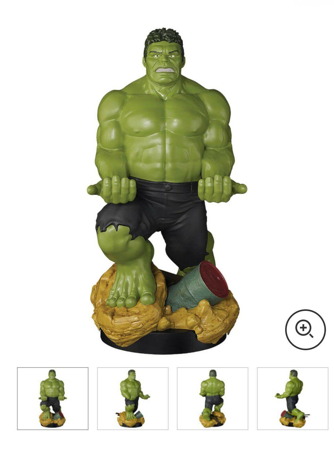 Soporte Mando o Móvil Marvel Hulk (30 cm) - Cable Guy