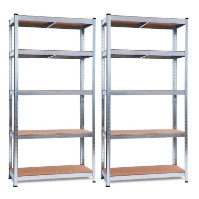 [CIBERMONDAY] 2xEstanterías metálicas de 180 cm de altura, o 4x estanterías de 90 cm (180x90x40)