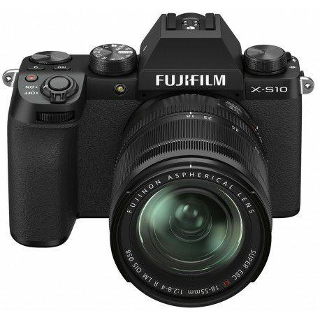 Cámara Fujifilm X-S10 + objetivo 18-55mm