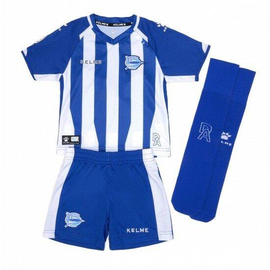 Kit Bebé Oficial 2018/19 Deportivo Alavés Kelme