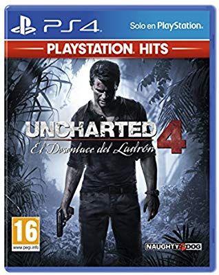 Uncharted 4: El Desenlace Del Ladrón PlayStation Hits