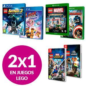 2X1 En Juegos de LEGO en GAME