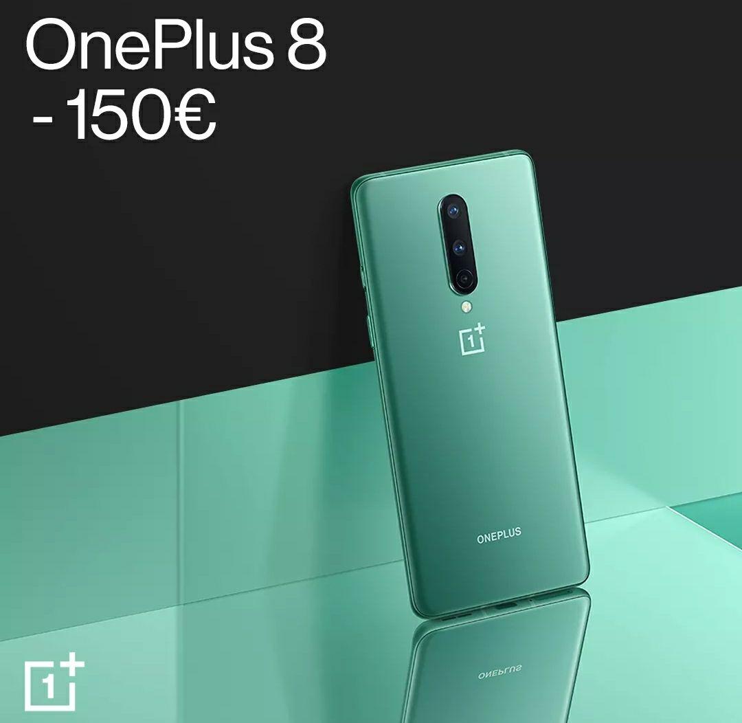 Oneplus 8 hasta 150 € de descuento