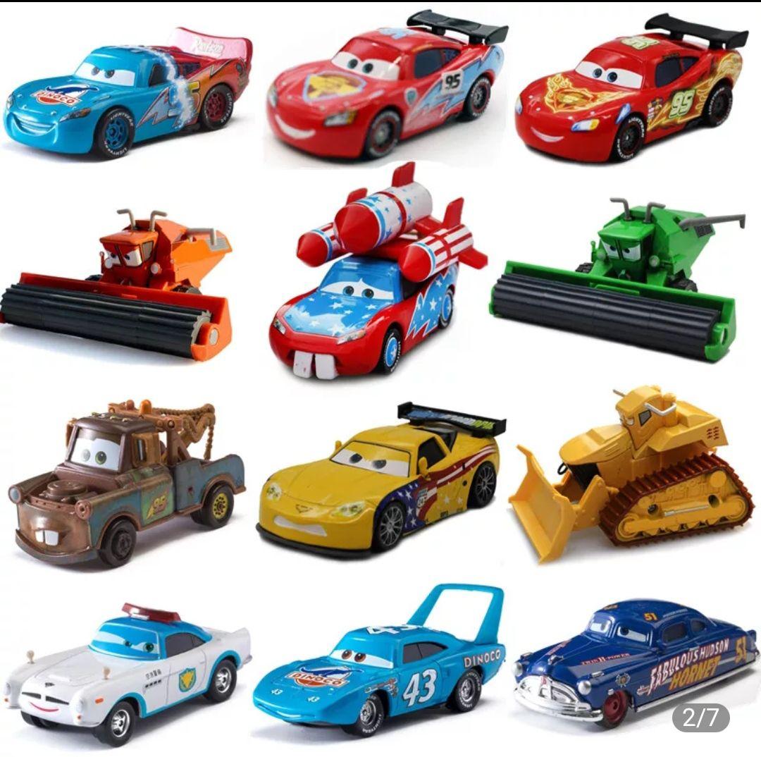 Coches de juguete de Cars disney pixar (Muchos modelos)