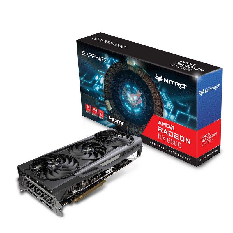 Sapphire NITRO+ AMD Radeon RX 6800 Gaming 16GB GDDR6