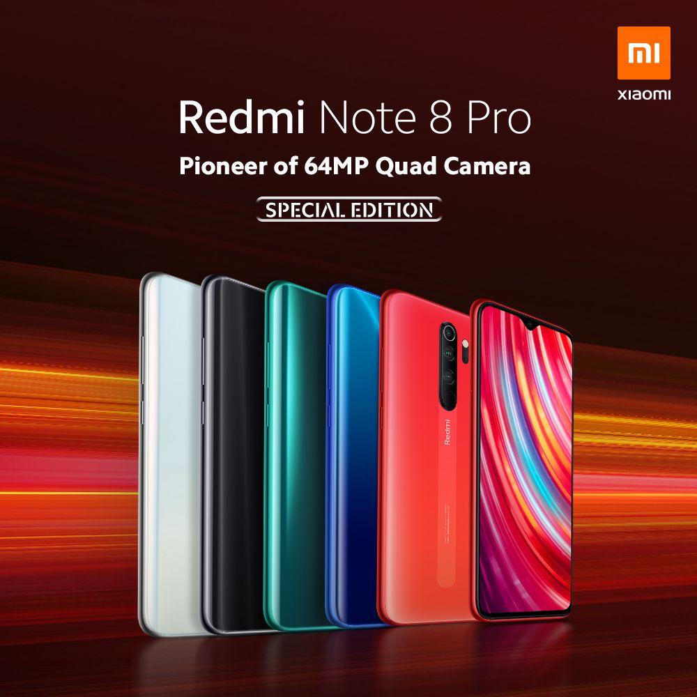 Redmi Note 8 Pro 6GB + 128GB (oficial)