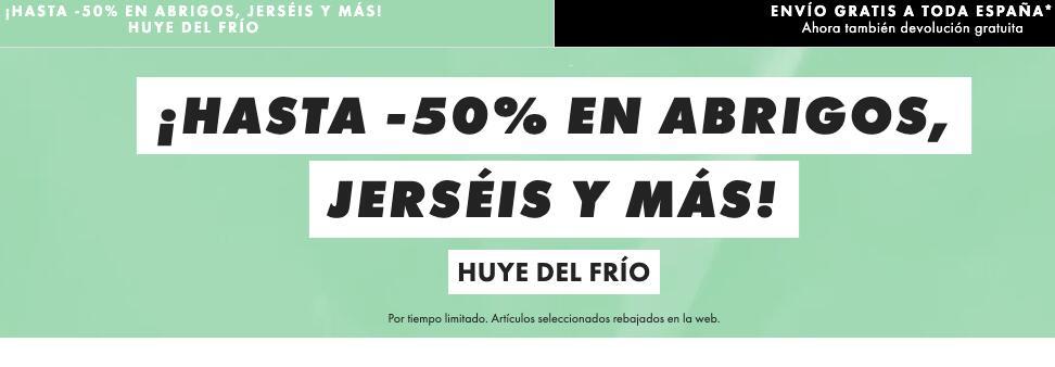 -50% en abrigos, jerséis y más en ASOS