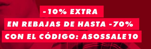 Hasta -70% + Código -10% EXTRA en ASOS