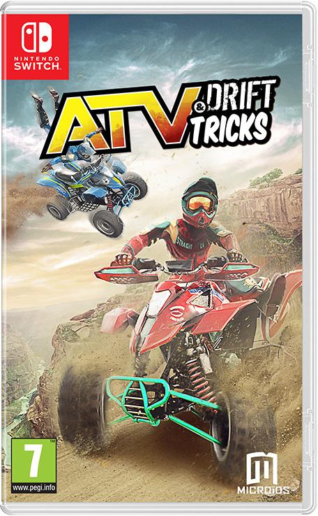 NINTENDO SWITCH: ATV Drift & Tricks por sólo 83 céntimos (Eshop Rusia)