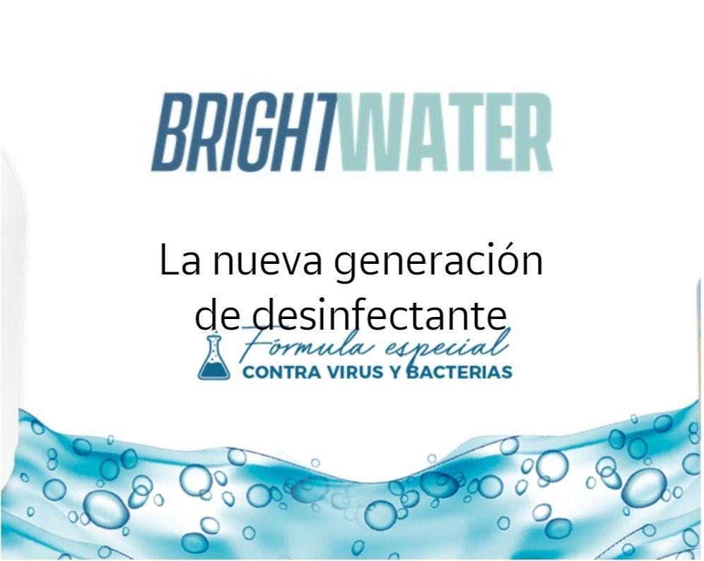 Muestra gratis desinfectante Brightwater