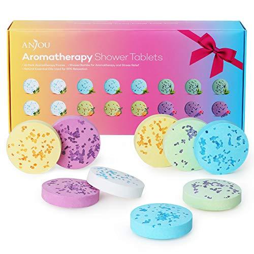 Tabletas de ducha para aromaterapia,con aceites esenciales Puros,Juego De 16