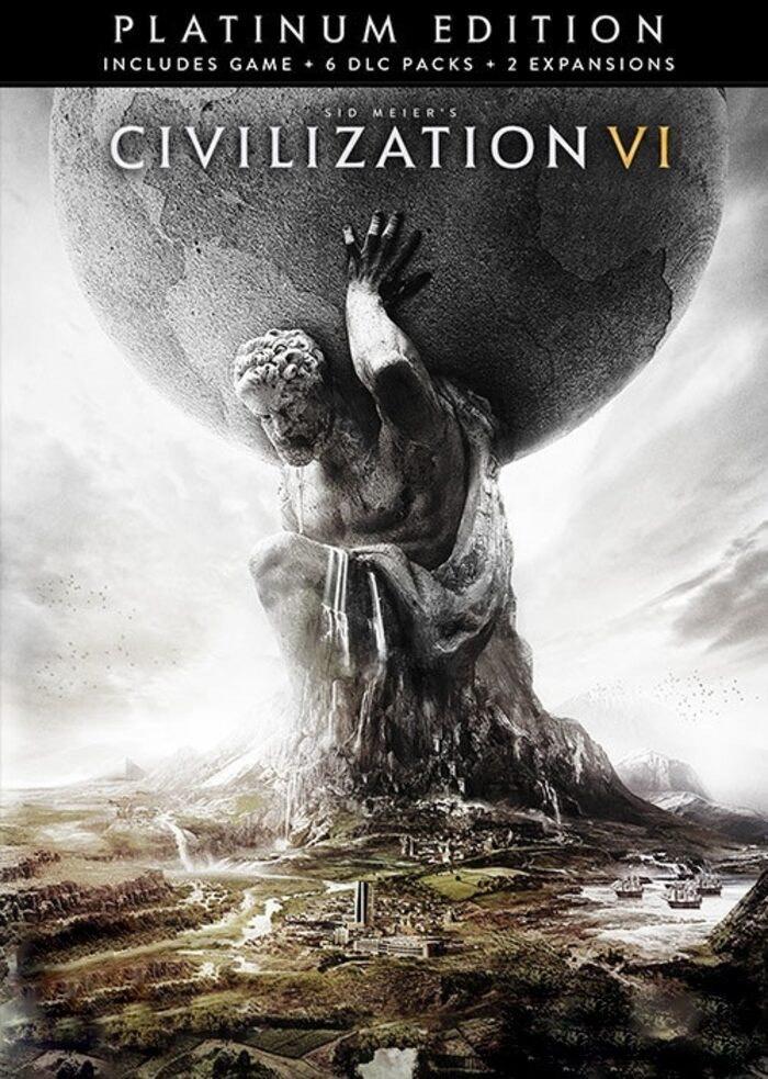 Civilization VI + 6 DLC + 2 Expansiones STEAM