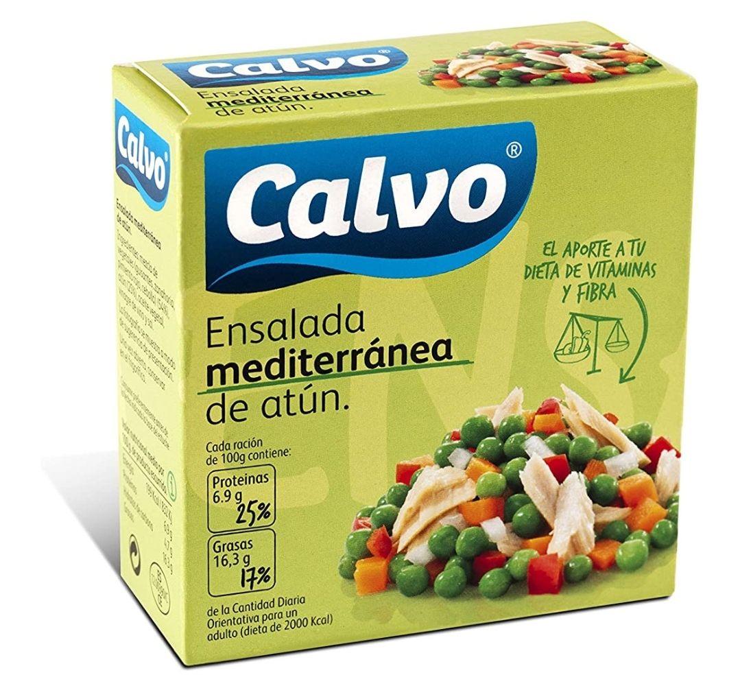 (3 unidades) Ensalada mediterránea Calvo - 0,55€ c/u