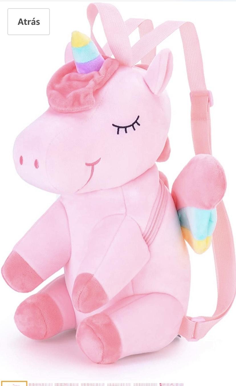 Mochilas de Unicornio Regalo de bebé 3D y otra más en descripción