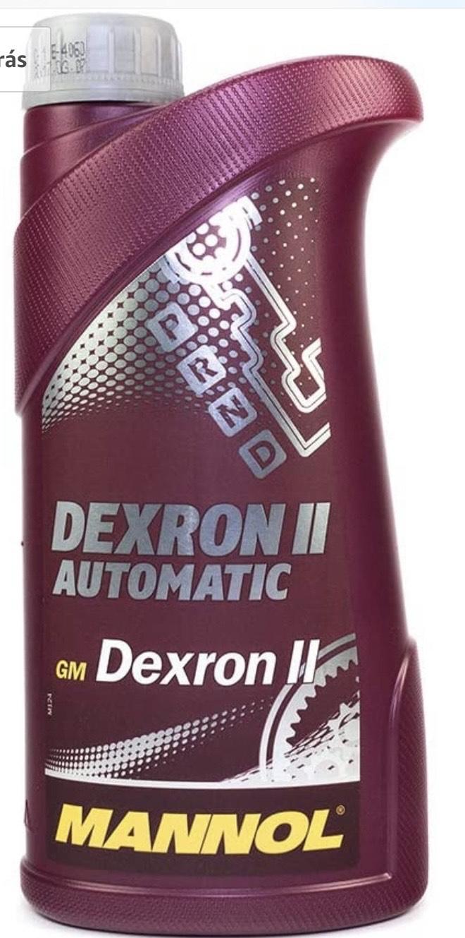 MANNOL Dexron II Automatic - Aceite de Transmisión 1 litro