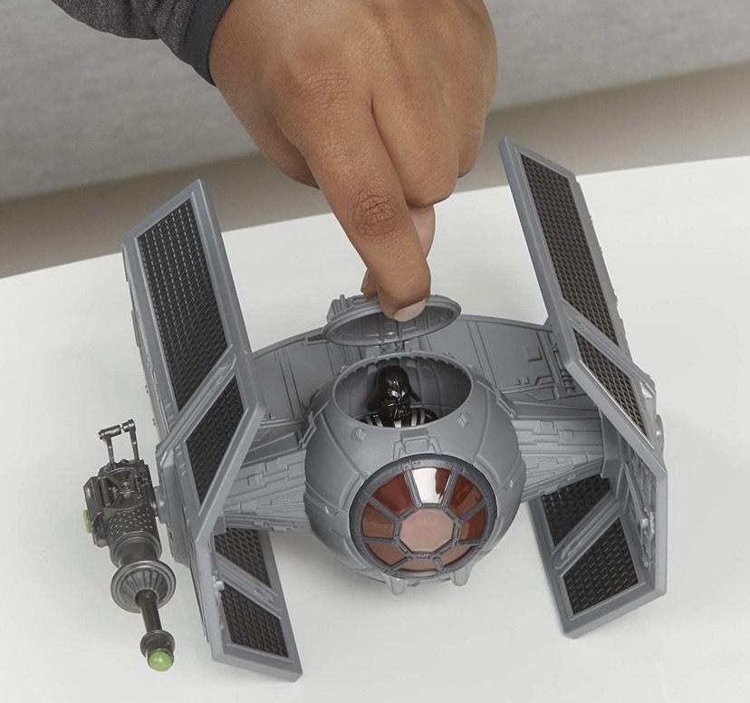 Star Wars Mission Fleet Stellar Class Darth Vader Tie Figura y vehículo avanzado de Escala de 2.5 Pulgadas,