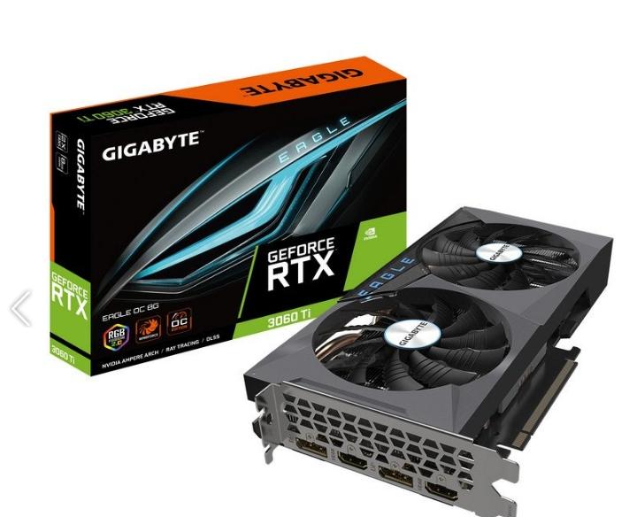 Gigabyte GeForce RTX 3060 Ti EAGLE OC 8GB GDDR6