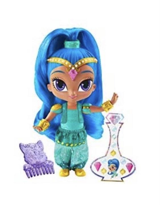 Muñeca Shimmer & Shine con accesorios