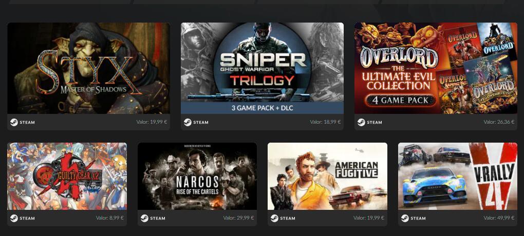 11 Juegos + DLC a 1,99€ [Steam]