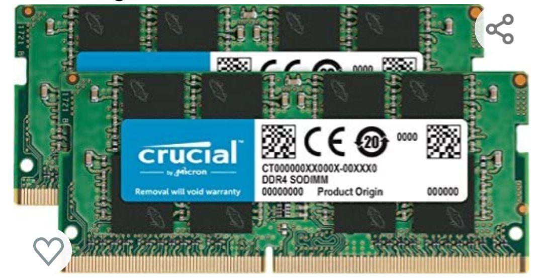 Crucial CT2K4G4SFS8266 Kit de Memoria RAM de 8 GB (4 GB x 2)