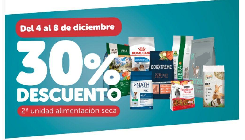 Kiwoko 30% en 2da unidad alimentación seca, del 4 al 8 diciembre