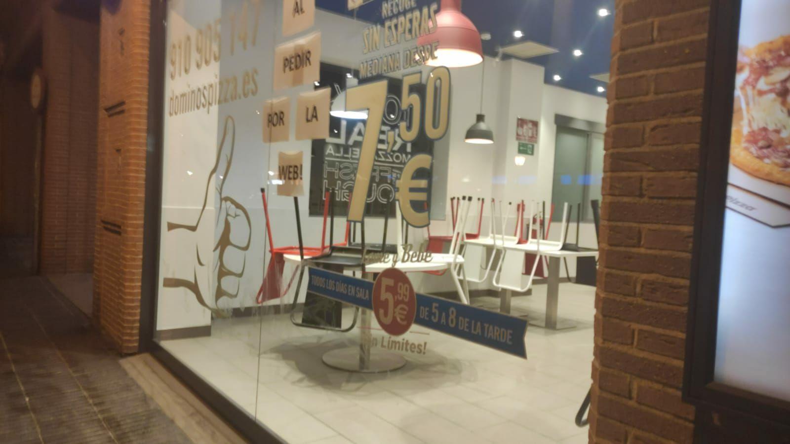 Come y Bebe en Domino's Pizza a 5.99€ de 17h a 20h (Alcalá de Henares)