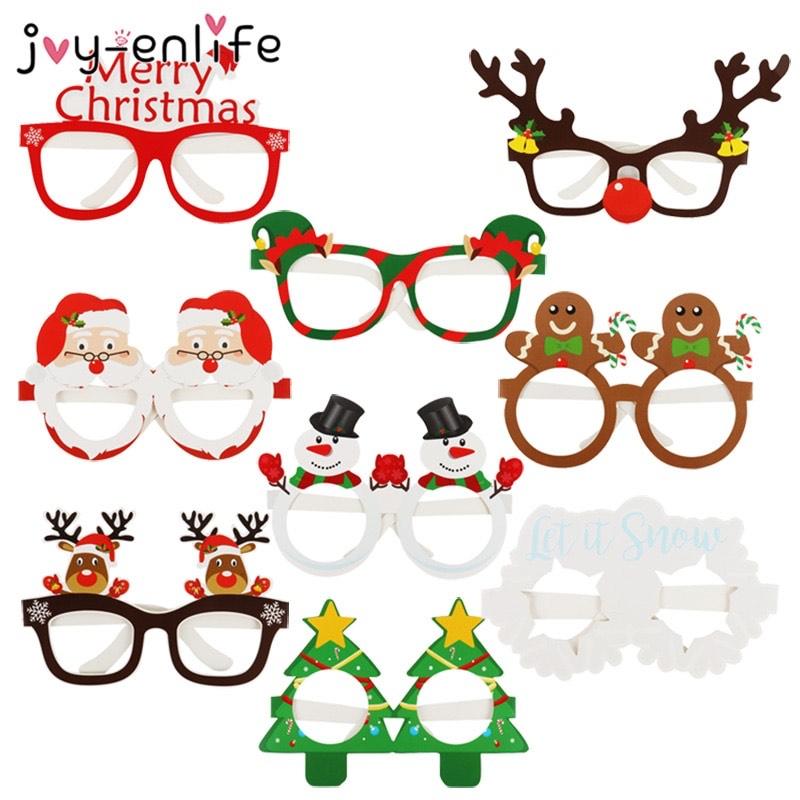 Lote de 9 gafas navideñas