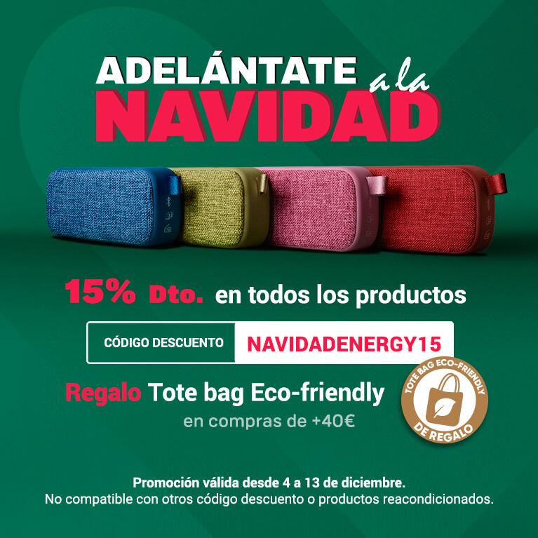 15% DTO y TOTE BAG de regalo