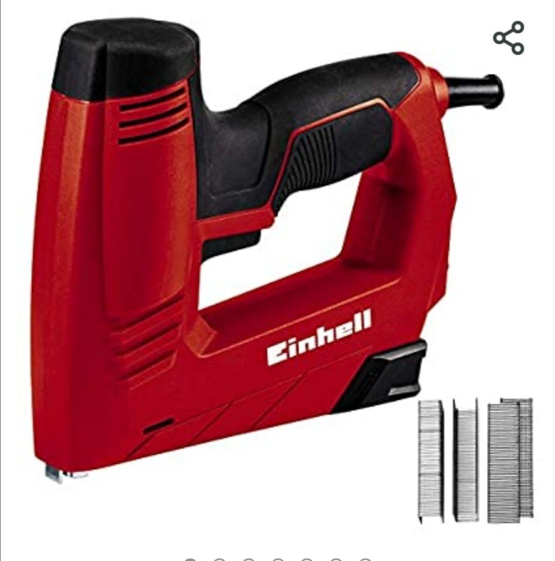 Einhell 4257890 TC-EN 20 E - Grapadora Electrica Potencia, 240 V