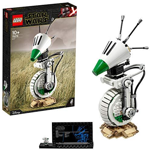 LEGO Star Wars - D-O, Maqueta de Droide de La Guerra de las Galaxias, Set de Construcción Inspirado en Star Wars Episodio IX,