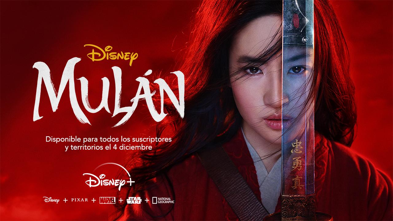 GRATIS :: Mulán ya disponible gratis en Disney+ (suscriptores)