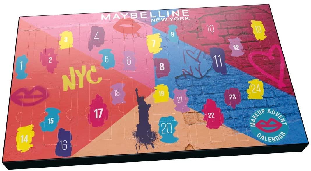 Calendario de adviento maybelline