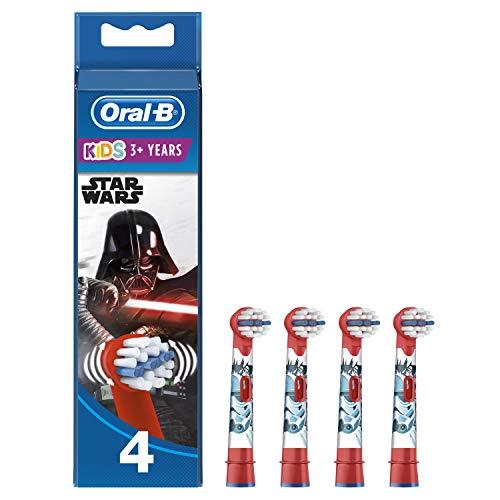 Oral-B Kids 4 Cabezales de Recambio Star Wars