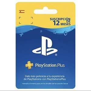 PlayStation Plus 12 meses por 40€