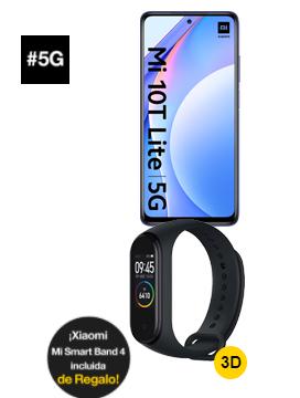 Xiaomi Mi 10T Lite 5G 6/128 + Mi Band 4 (portabilidad prepago)