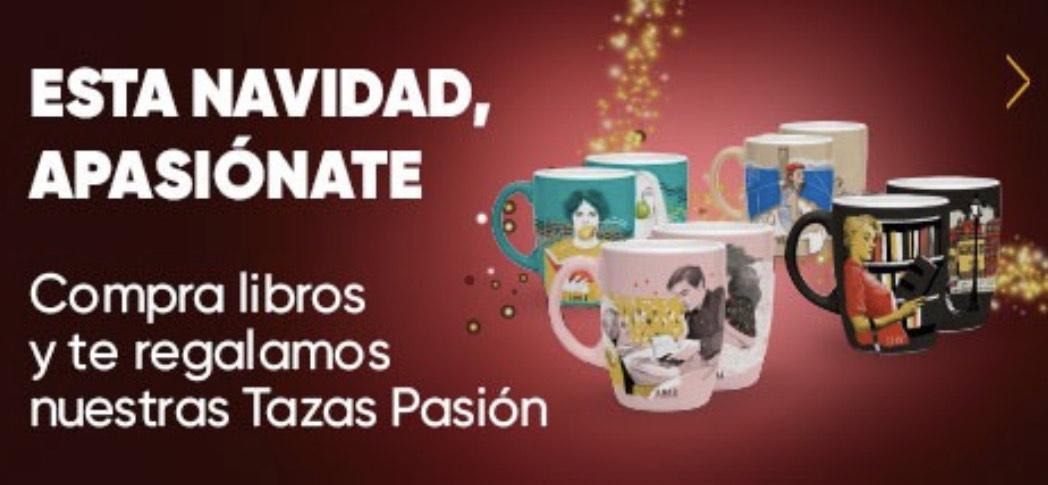 2 tazas gratis en FNAC por compras de +50€ en Libros