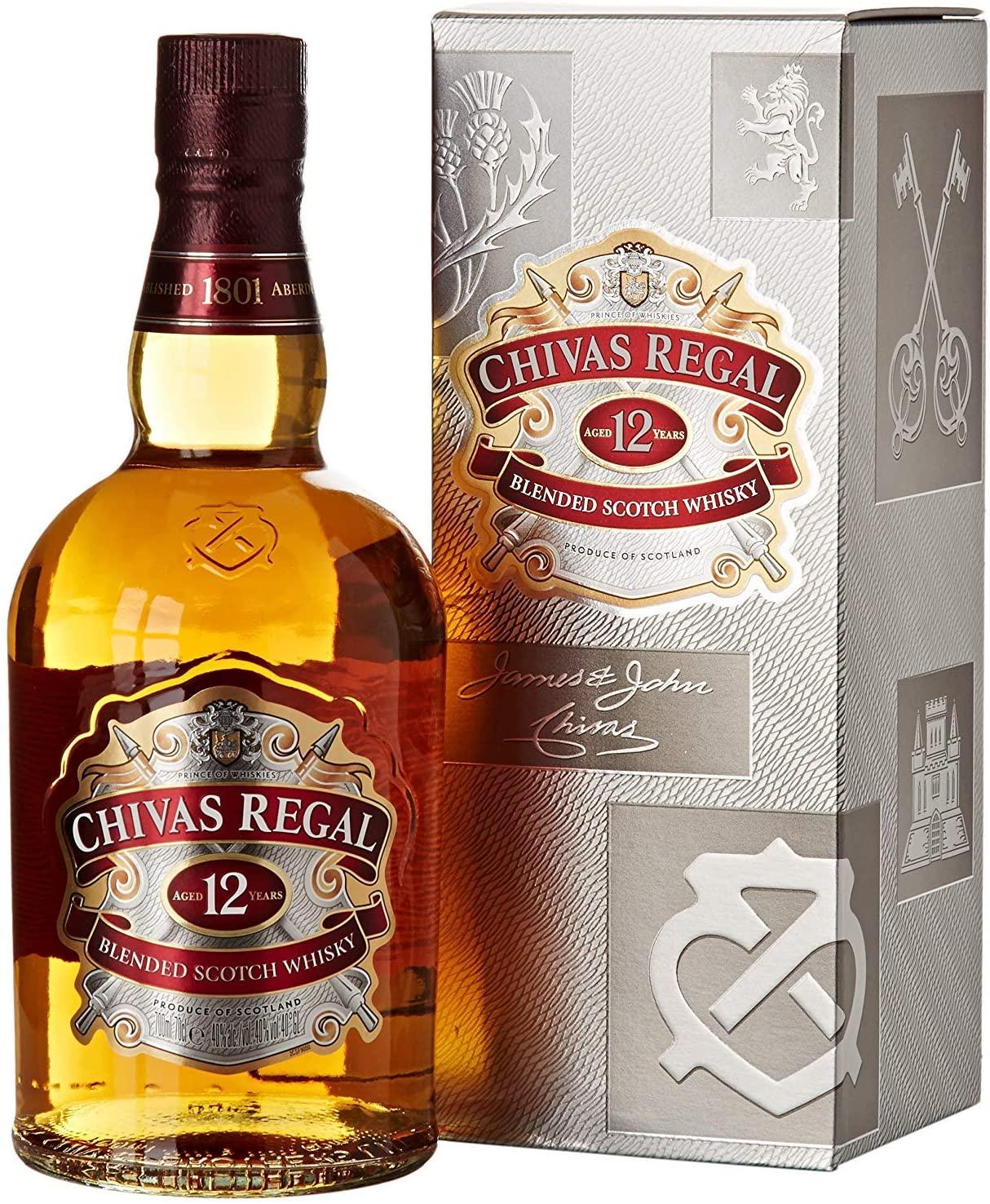 Chivas Regal Whisky Escocés 12 años