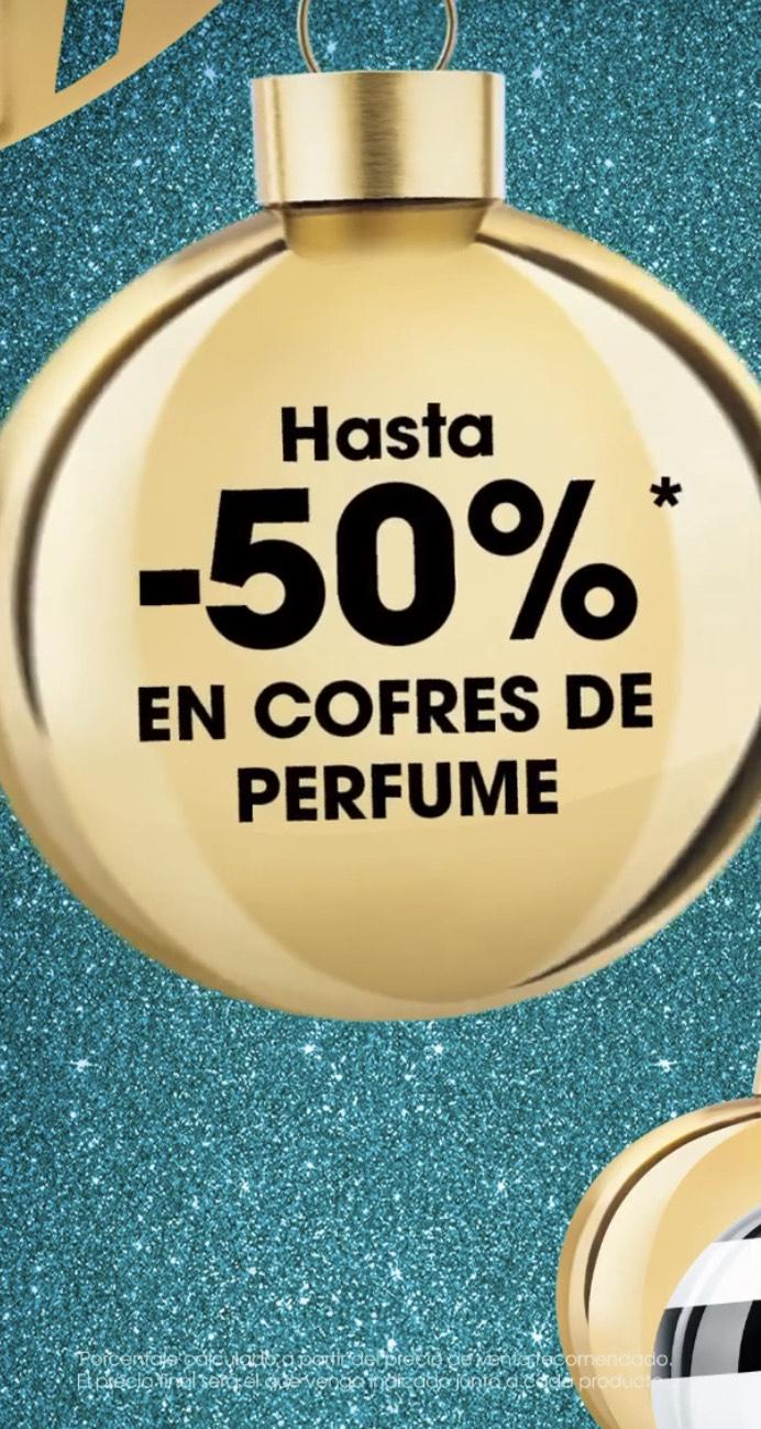 Hasta 50% en cofres de perfume en Sephora