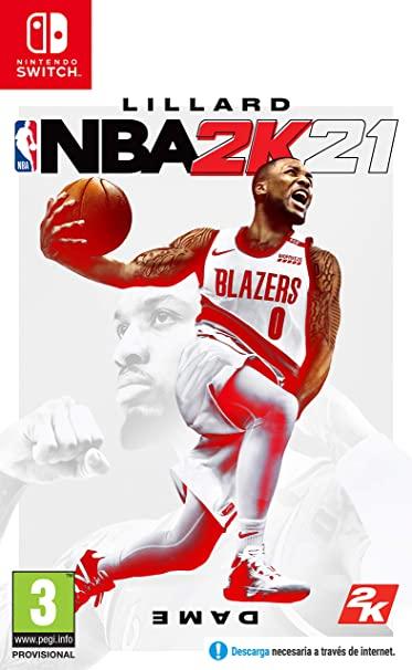 NBA 2K21 (formato físico) PS4, XBOX , SWITCH