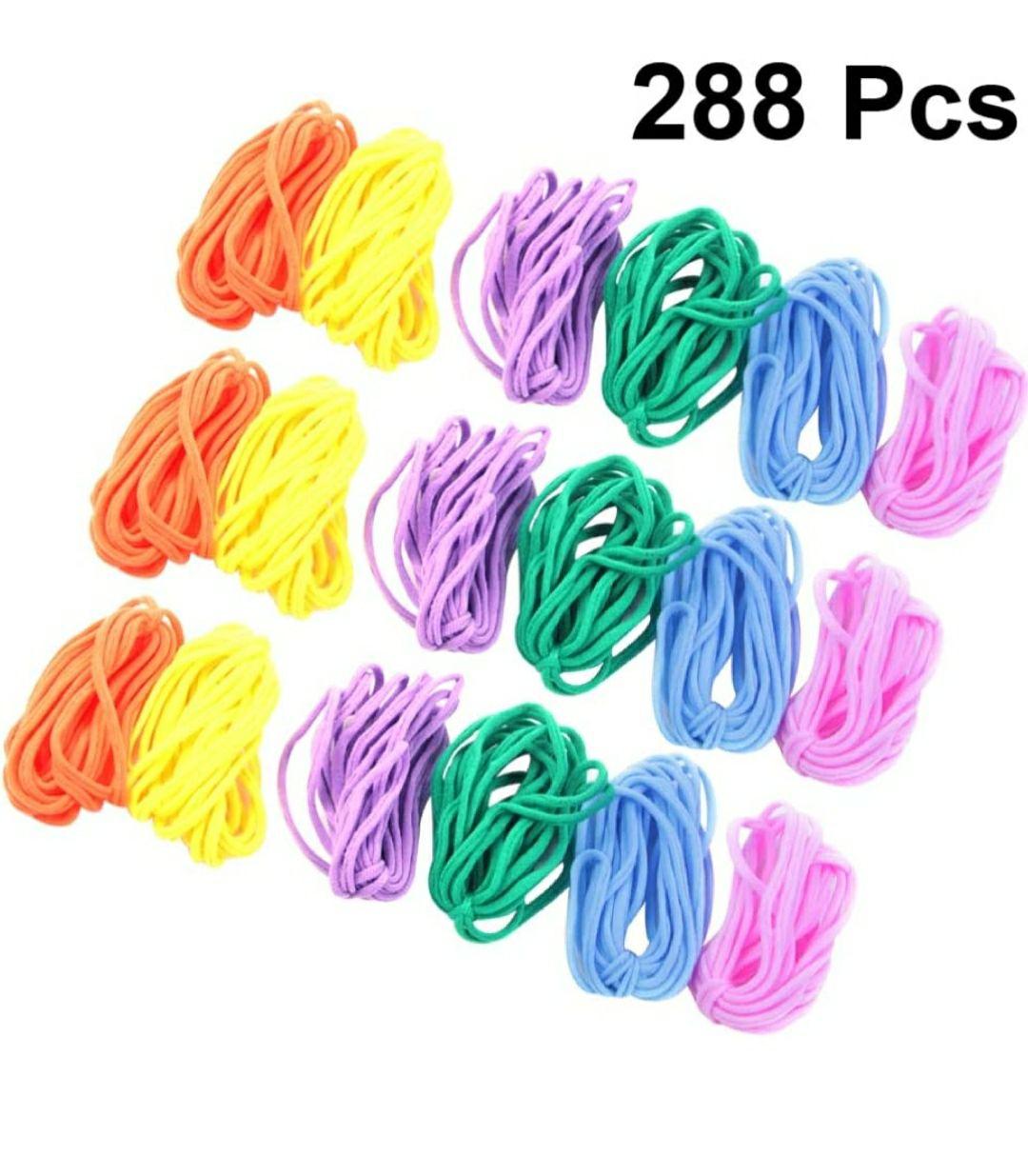 EXCEART 288 unidades de telar trabillas de telar para manualidades (varios colores)
