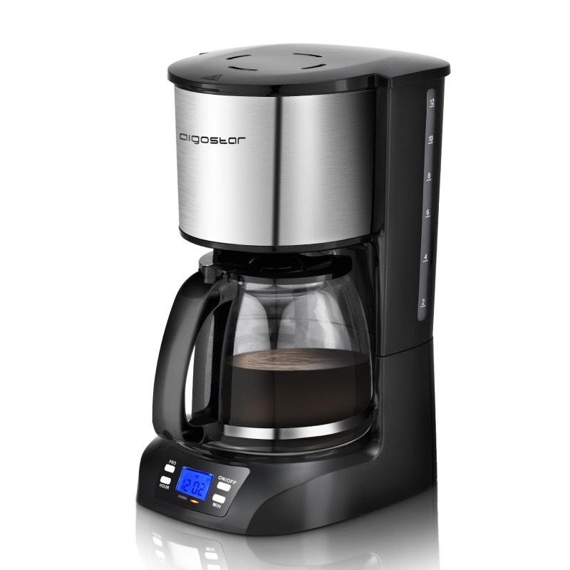 Cafetera Goteo 12 tazas 800w Programable 24h a sólo 14€!